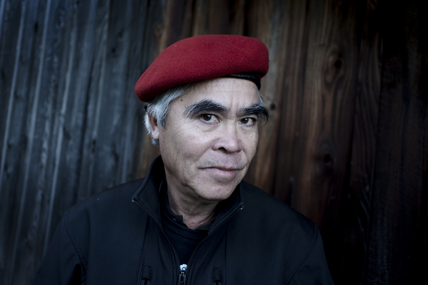 Nick Ut poses for a portrait at Eddie Adams Workshop XXIX, Photo: Ann Sophie Lindström